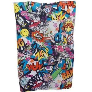 Torrid Comic Graffiti Pencil SkirtStretch Plus 3X